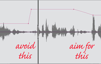 Examples of good & bad audio edits