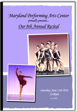 Maryland Performing Arts 8th Annual Recital