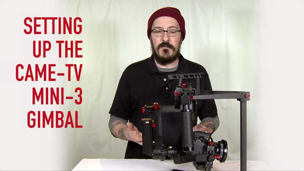 Came-TV Mini-3 Gimbal