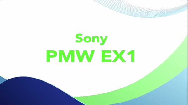 Sony PMW-EX1 Video Camera