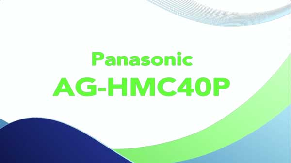 Panasonic AG-HMC40P Video Camera